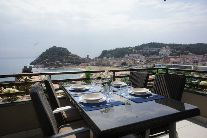 Apartment with panoramic sea views  - Tossa de Mar - Appartement