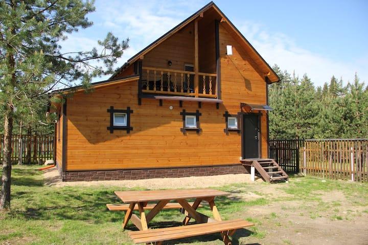 Уютный тёплый дом рядом с горнолыжными курортами