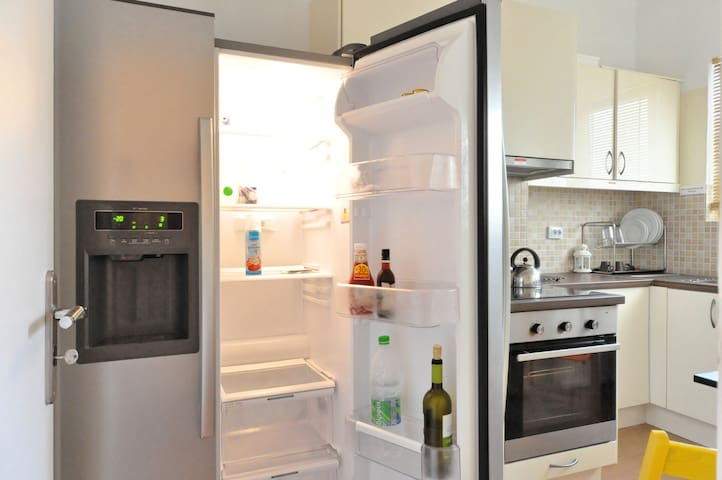 The largest fridge in airbnb Athens