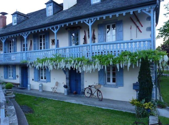 Suite familiale de 2 chambres d'hôtes - Aramits - House