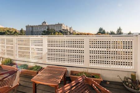 LUXURY DUPLEX PENTHOUSE ROYALPALACE - 马德里 - 公寓