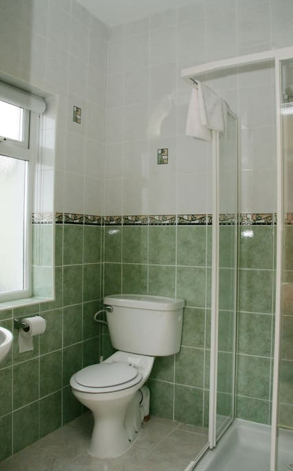 The ensuite shower room to bedroom no.2