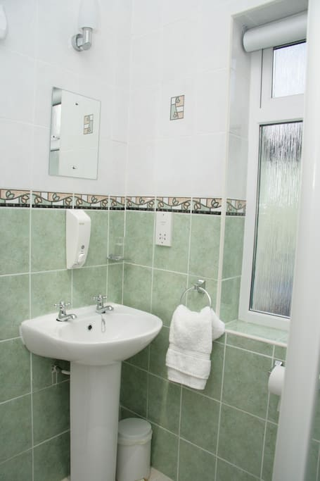 another view of ensuite no.2 - spacious and great shower