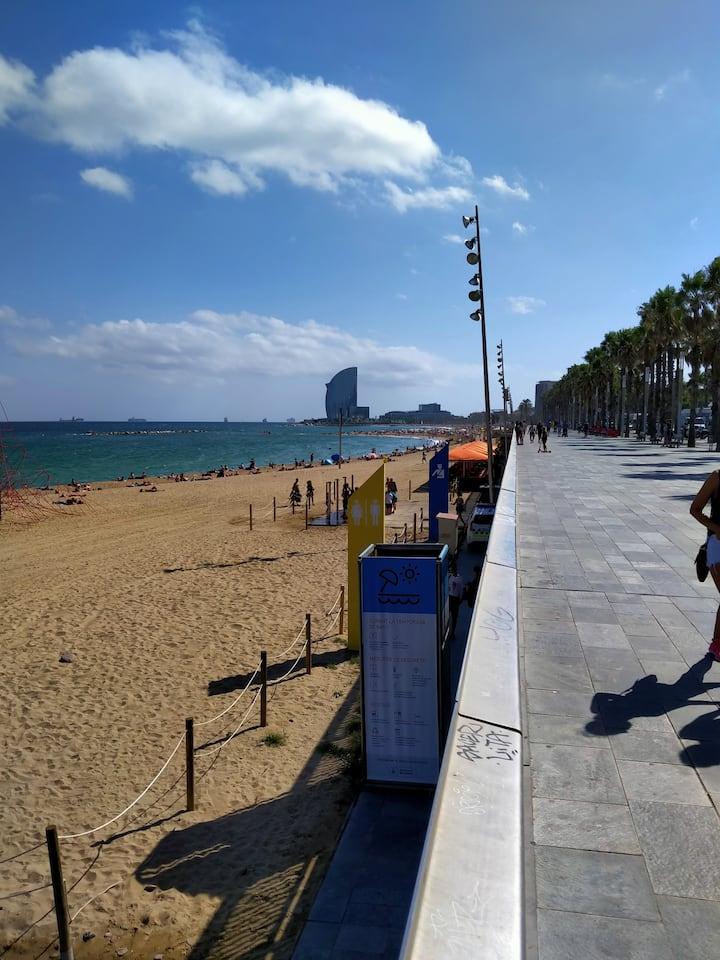 Habitación en zona privilegiada de Barcelona