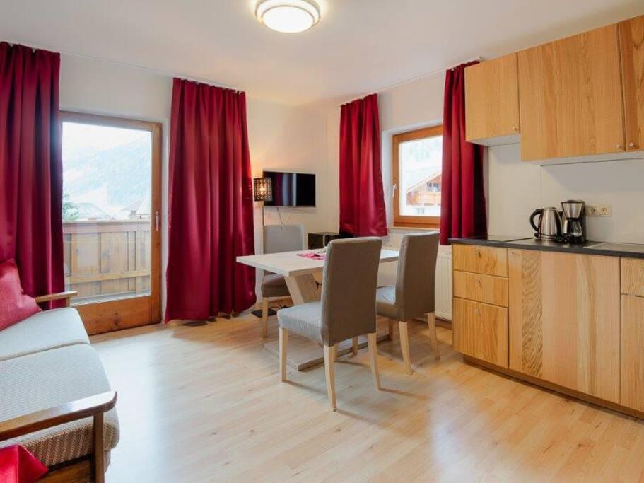Appartment 1  Wohnküche