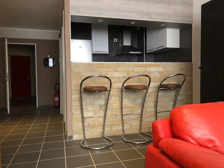 Studio premium privatif, Charleroi (Rive Gauche)