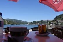 Cafe at the Hotel Porto Antigua