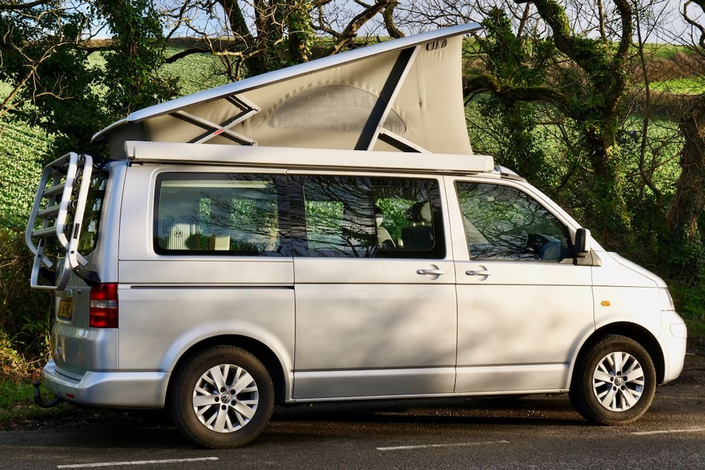 Camping in Style in a Factory Made VW California