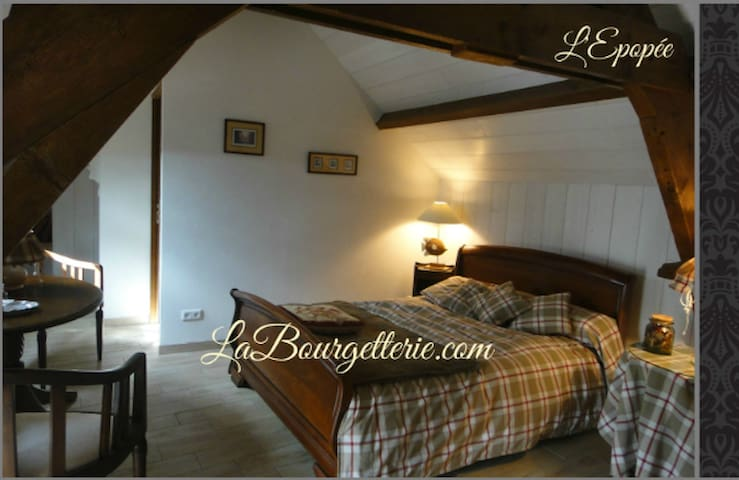 NORMANDIE - BED AND BREAKFAST  - Fontenay-sur-Mer