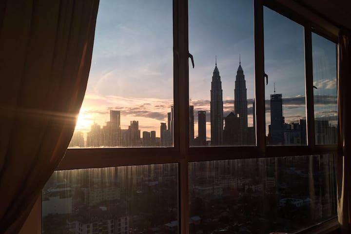 Modern 2 Bedroom KLCC view - Kuala Lumpur - Lägenhet
