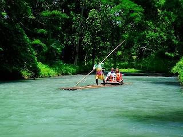 You can have a relaxing day of rafting on the White River.