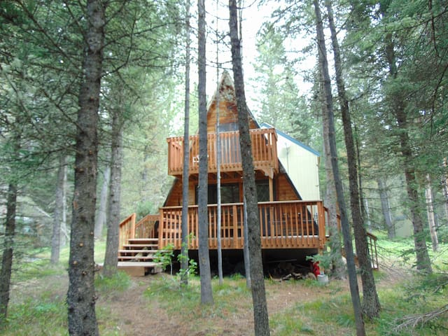 Creekside Cottage is an inviting 2 story cabin.