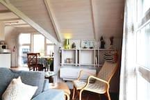 Holiday cottage with 2 bedrooms on 74m² in Hvide Sande