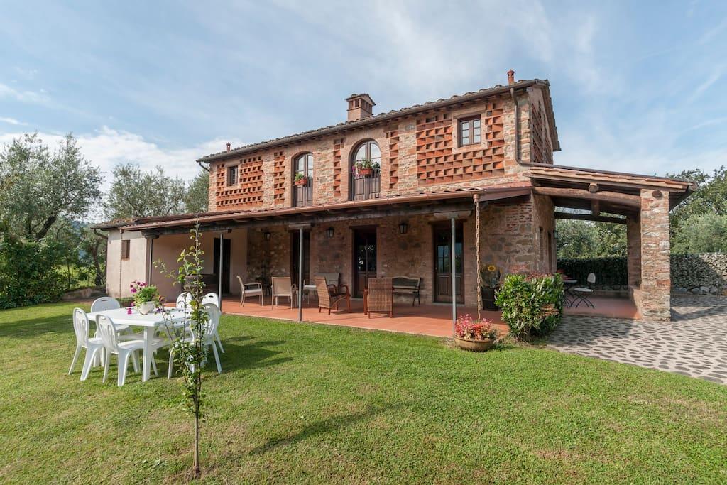 Il fienile case in affitto a torre toscana italia for Piani di casa del fienile con 4 camere da letto