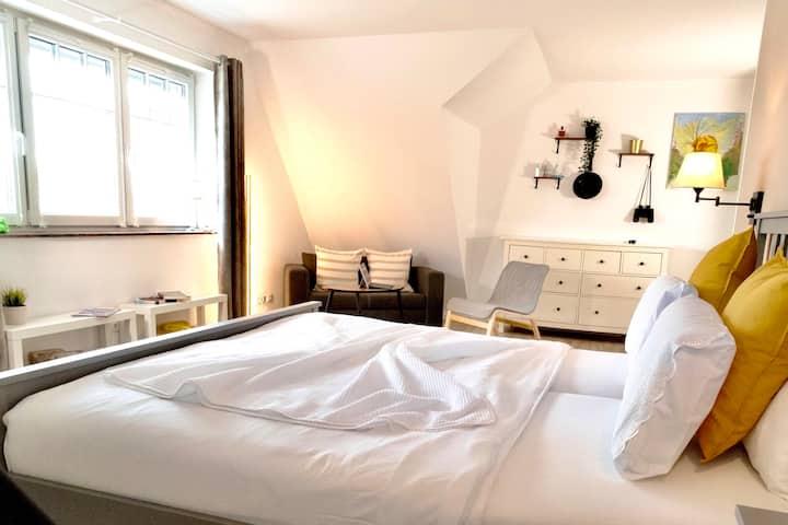 ANO 2020 – ruhige Wohnung in Strandnähe (1km)