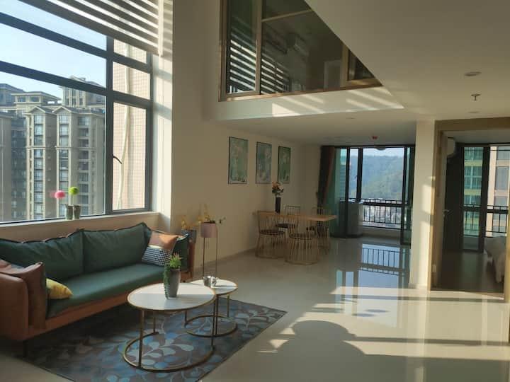 海景北欧大公寓