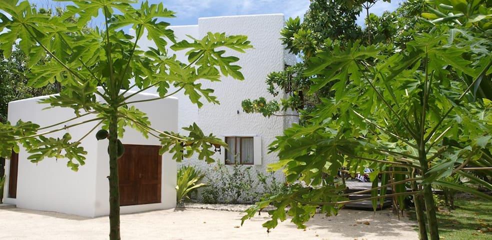 Private beachfront villa - Eton - Huvila