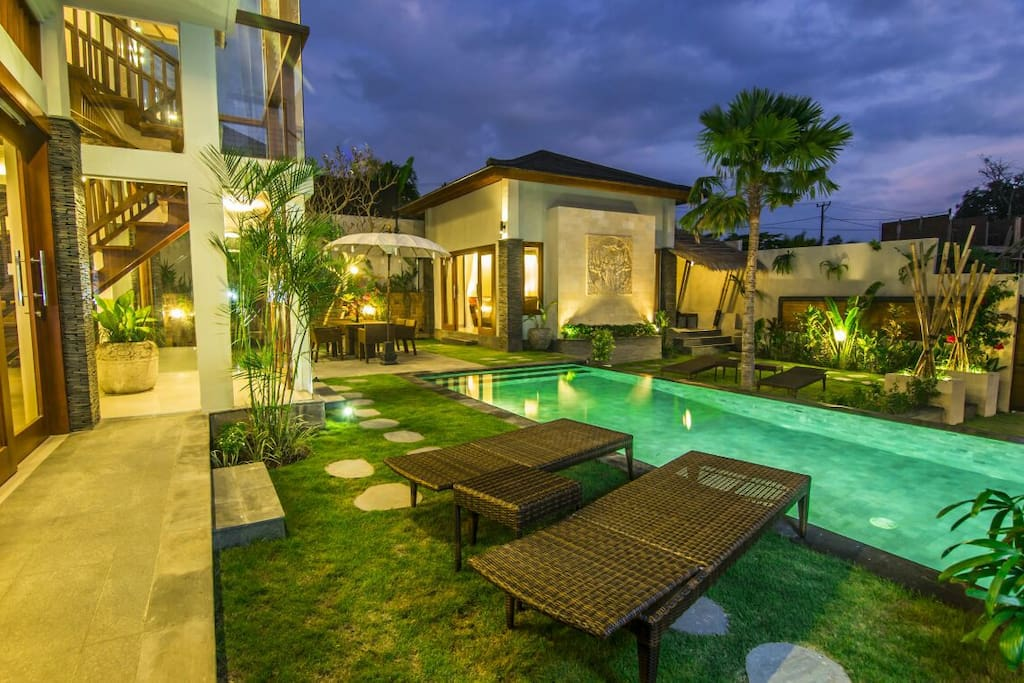 Villa Batur 3 bedroom, garden & pool