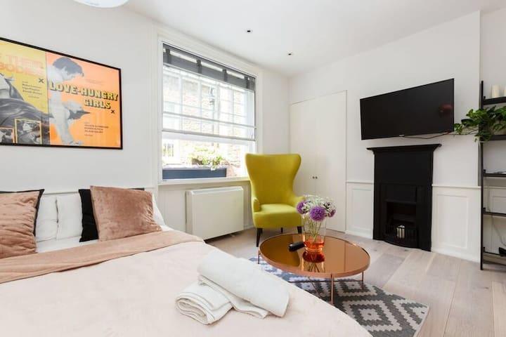 Modern Studio Apartment in Soho CARNABY STREET