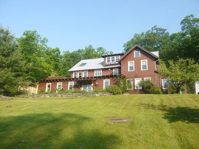 Secluded Catskill Mountain House - Mount Tremper - Casa