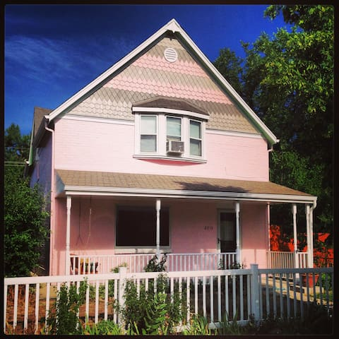 The Pinkhouse- Charming Victorian - Denver - Rumah