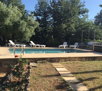 Haut de villa avec piscine - Nans-les-Pins - Annat
