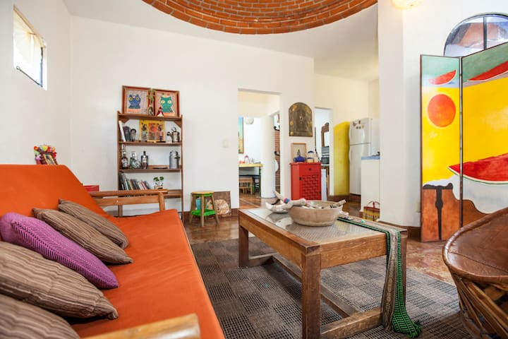 Talcahuano Apartment in Tepoztlan. - Tepoztlán - Daire