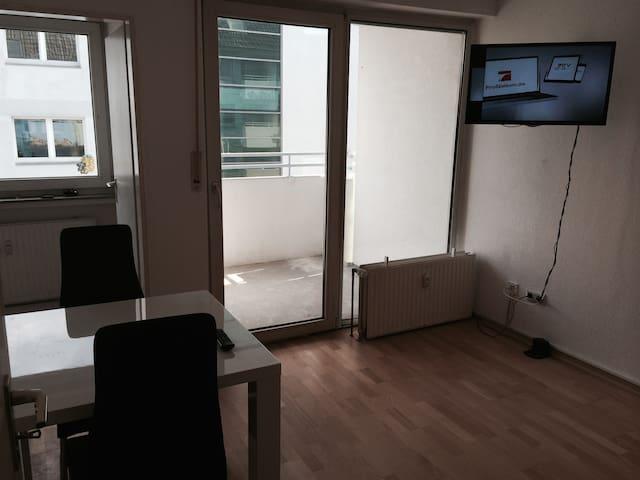 Apartment mit Balkon im Citycenter