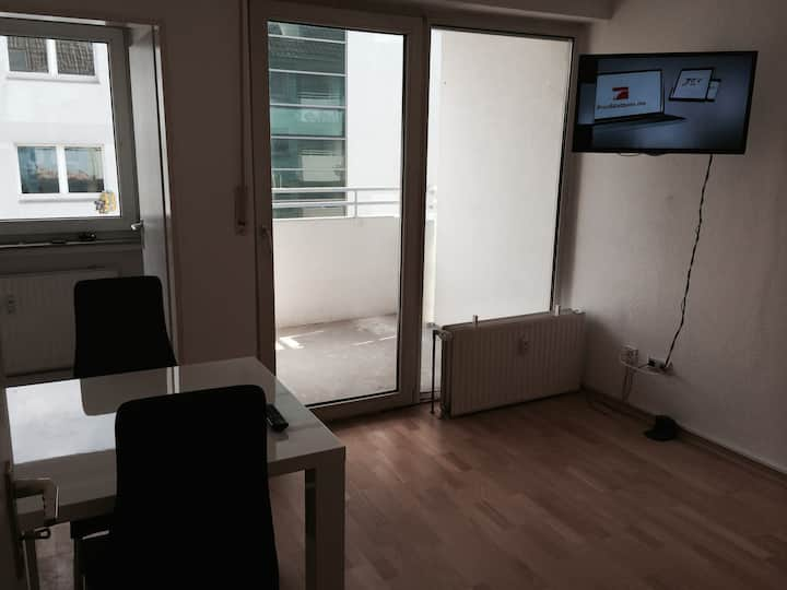 Apartment mit Balkon im Citycenter