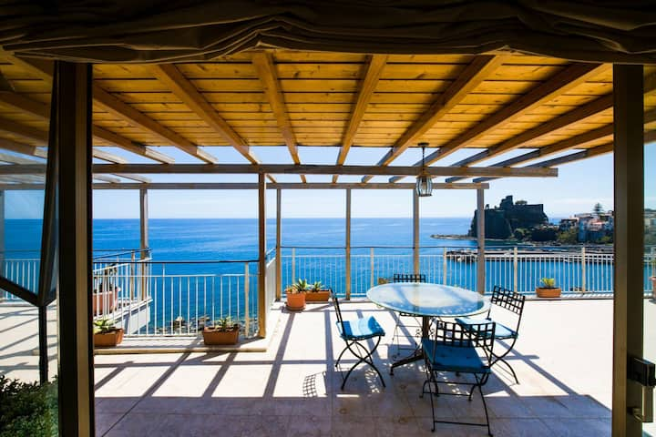Super Panoramic Attic Aci Castello