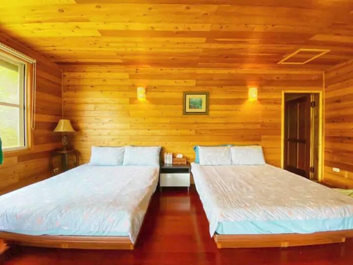 「Hngaw河鬧小屋」─ 在自然的浪漫中找平靜【8人景觀大套房】