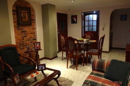 Habitaciones en apartamento - Tunja - Selveierleilighet