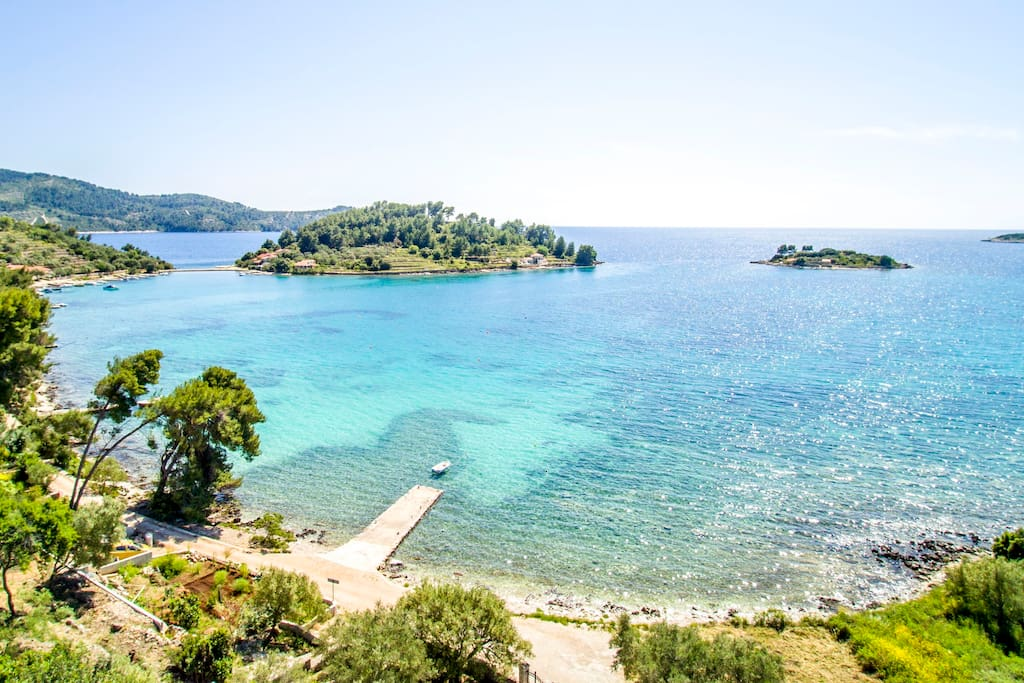 Korcula Island is full of wonderful beaches.