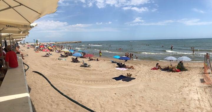 Apartamento segunda línea de playa