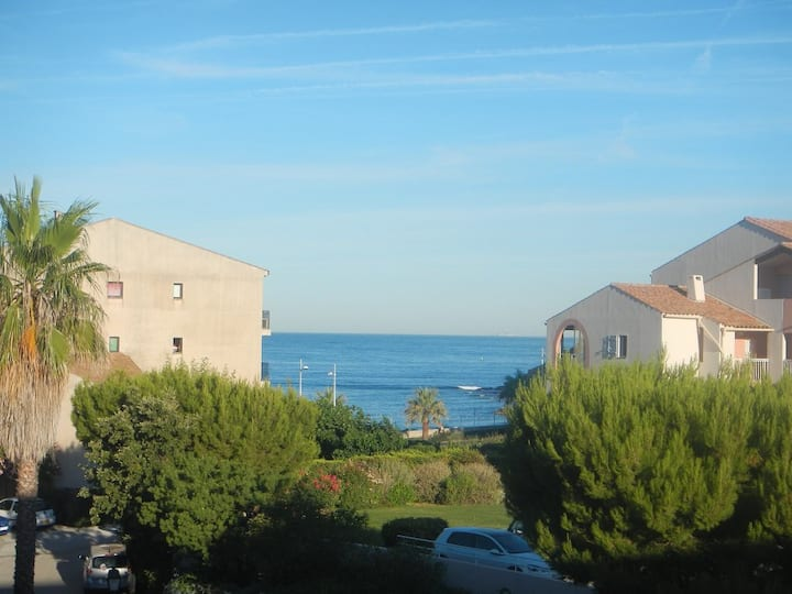 Beautiful appartment with sea view and near of the beach