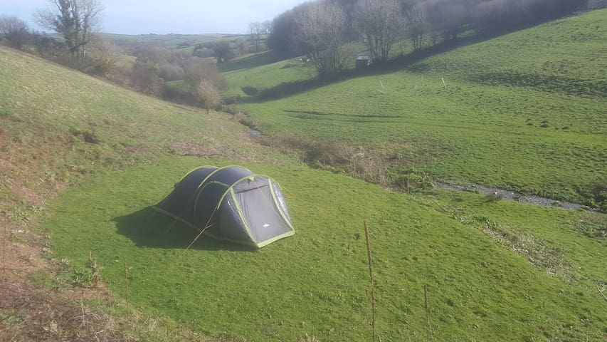 Wild Camping Devon (Heathfield Escapes, pitch 2)