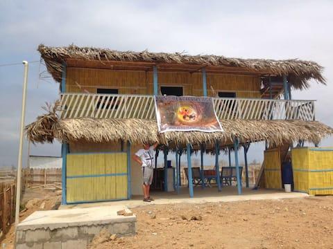 Beach Cabin at Playa Delfin in Playas Ecuador
