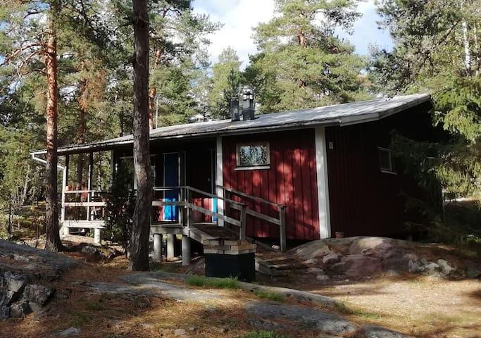 Traditional Finnish Summer Cottage Måsen