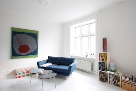 Wonderful apartment with a lot of light - København - Flat