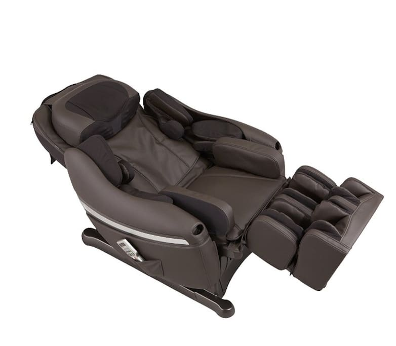 Inada Japanese Massage Chair with Heated Seat Option.