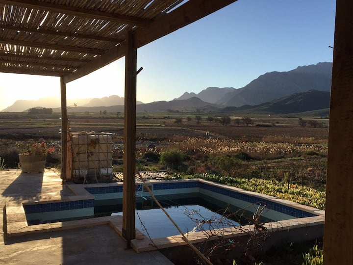 Mountain View Cottage - Nuy Valley - Western Cape.