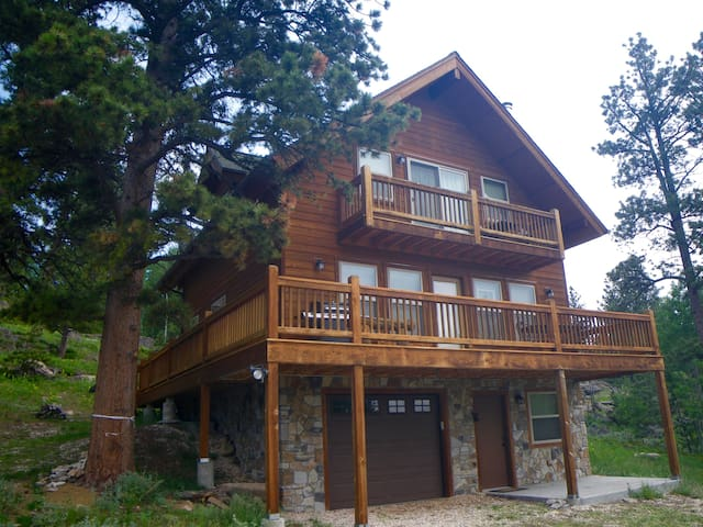 Mountain Cabin Retreat -Beautiful! Built 2009 - Red Feather Lakes - Sommerhus/hytte