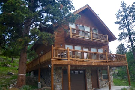 Mountain Cabin Retreat -Beautiful! Built 2009 - Red Feather Lakes - Kisház