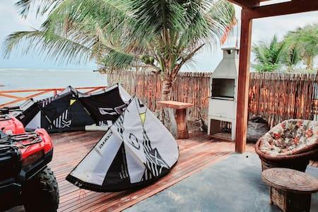 Maravillosa casa  playa tatajuba  pasos  jericó