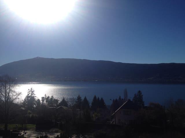 Appartement avec vue sur le lac à 180° - Veyrier-du-Lac - Huoneisto