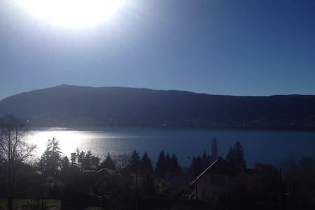 Appartement avec vue sur le lac à 180° - Veyrier-du-Lac