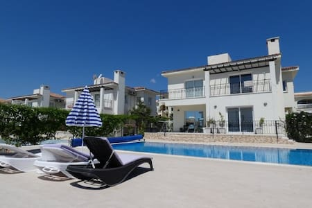 Villa 3 bedroom with pool, 1 km from sea N. Cyprus