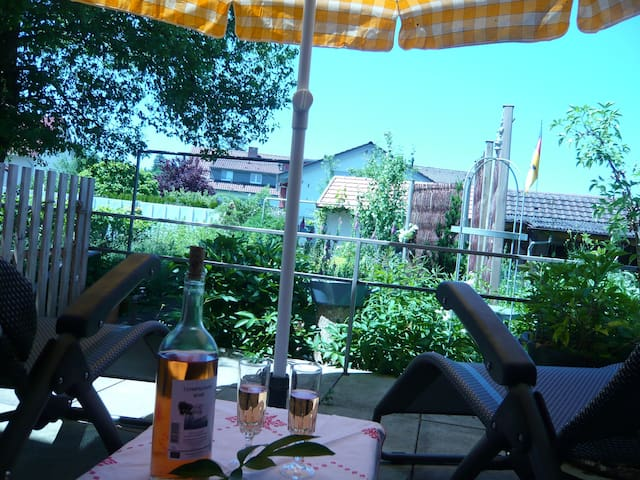 Ferienwohnung Gartenglück am Kurgebiet