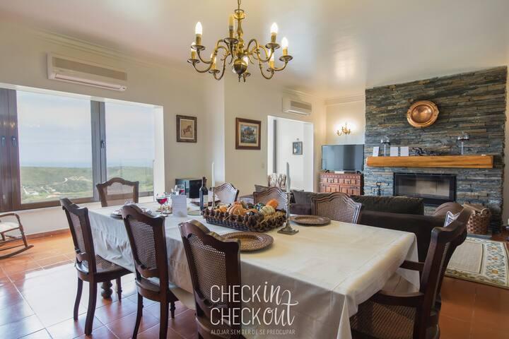 CheckinCheckout - Retiro da Adraga