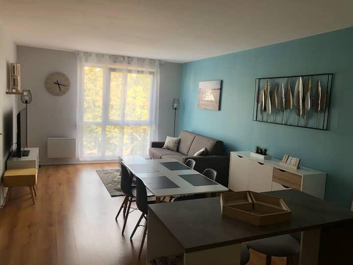 Magnifique appartement rénové à neuf proche gare